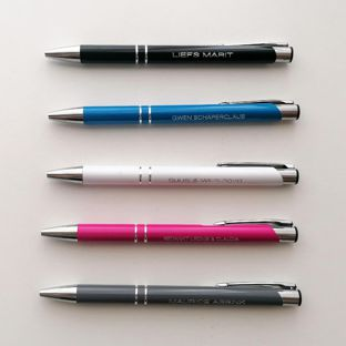 Pen met je eigen naam