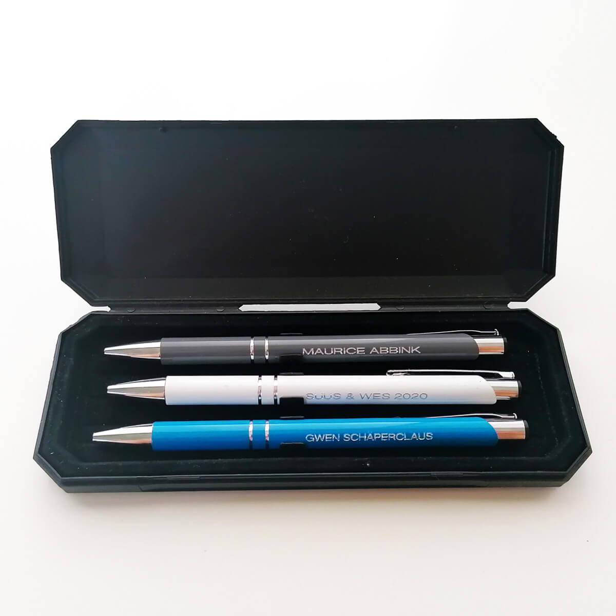 Elke pen individueel gepersonaliseerd
