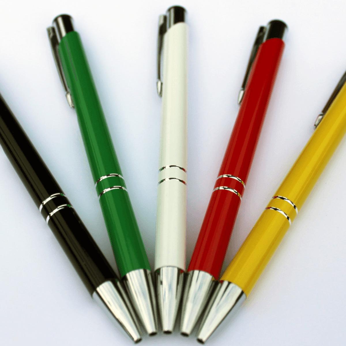 Kies je eigen kleuren pen en wij bedrukken elke tekst