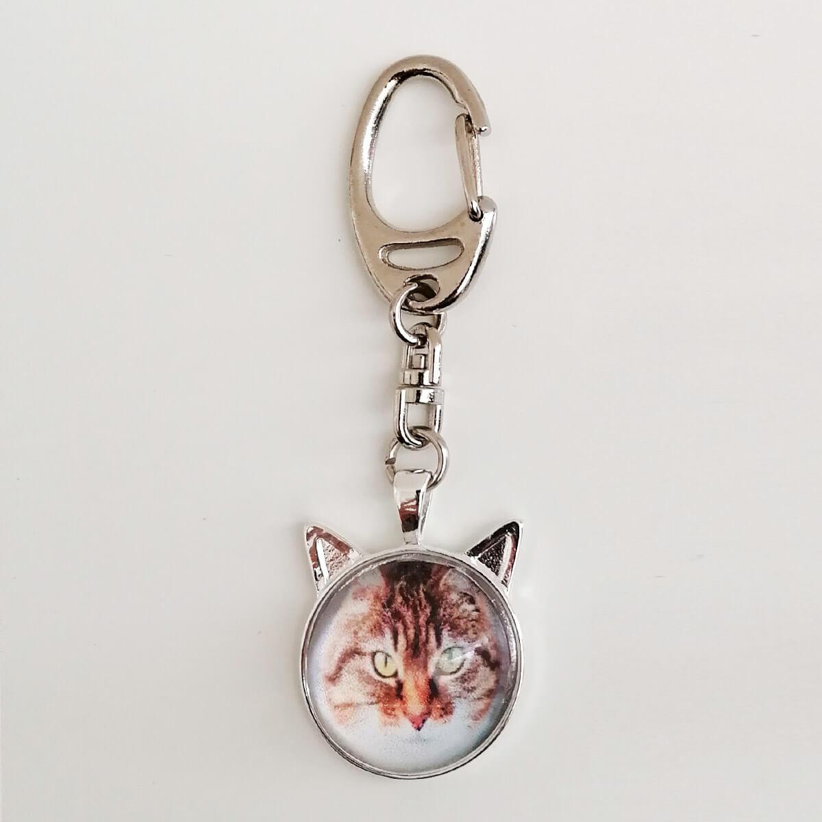 Foto hanger met jouw poes of kat foto