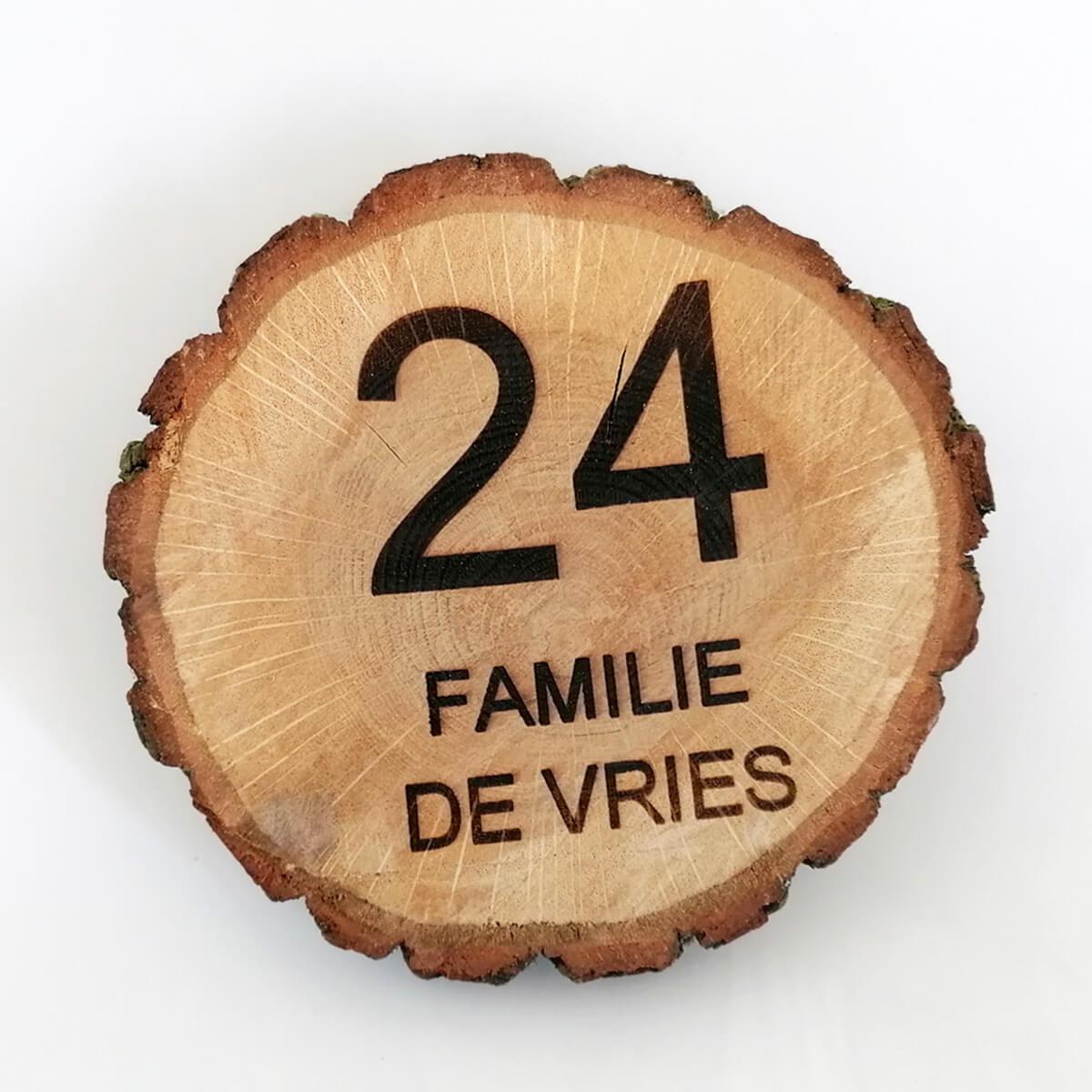 Personaliseer dit houten bord