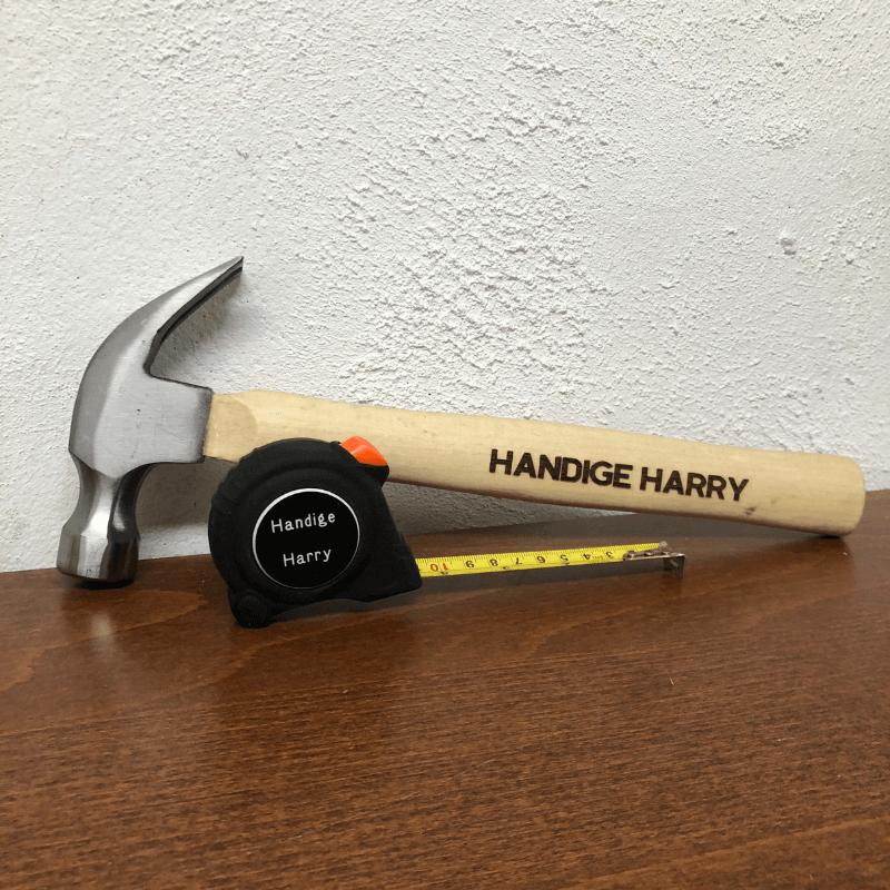 Hamer met naam of leuke tekst