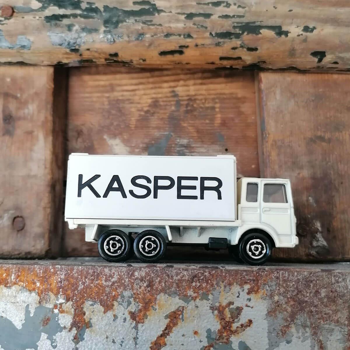 Bestelwagen met naam gravering