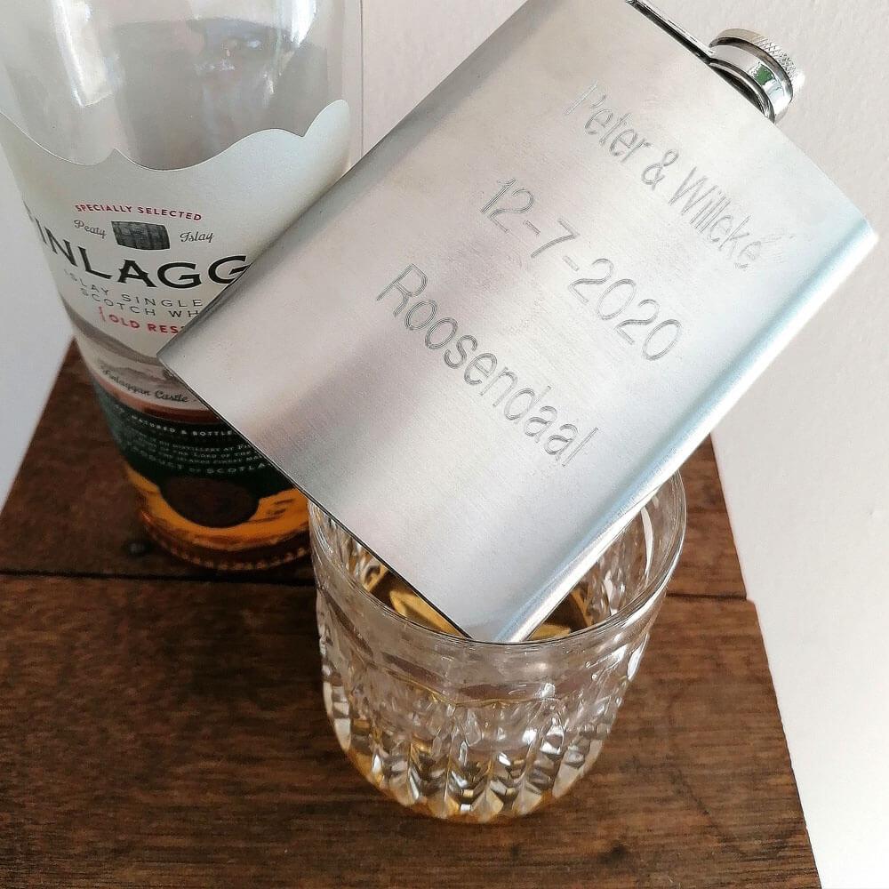 Veldfles drank en personaliseer