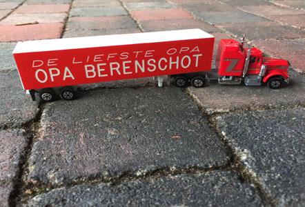 Koop een vrachtwagen met naam
