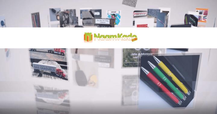 Naamkado; budget en betaalbaar cadeau