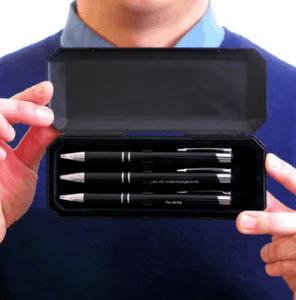 Pennen-set als relatiegeschenk